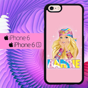 Barbie Girl Pink L0602 fundas iPhone 6, iPhone 6S