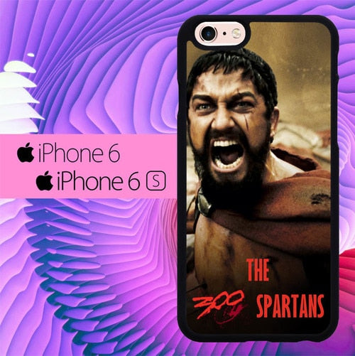 the 300 spartans L0907 fundas iPhone 6, iPhone 6S