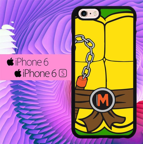teenage mutant ninja turtles body M L1044 fundas iPhone 6, iPhone 6S