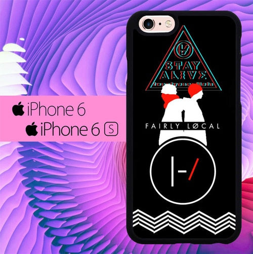 twenty one pilots stay alive L1055 fundas iPhone 6, iPhone 6S