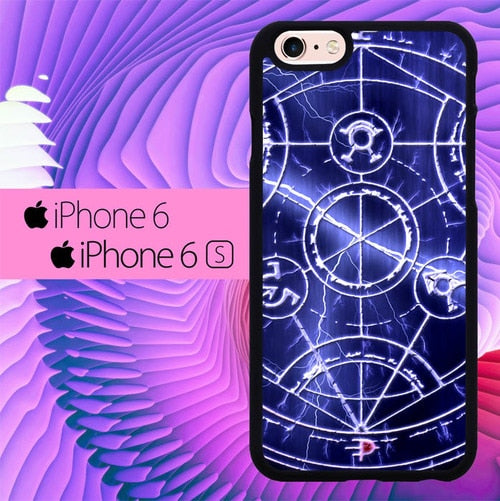 Alchemist Pentagram  L1184 fundas iPhone 6, iPhone 6S