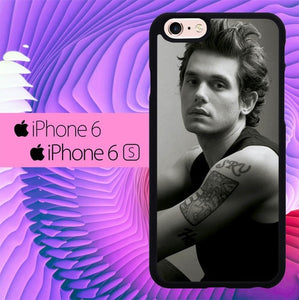 John Mayer Black and White L1254 fundas iPhone 6, iPhone 6S