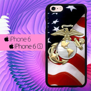 Marine Corps Anchor L1261 fundas iPhone 6, iPhone 6S
