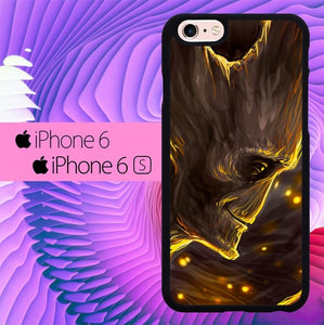 Guardians Of The Galaxy Treeman Groot L1418 fundas iPhone 6, iPhone 6S