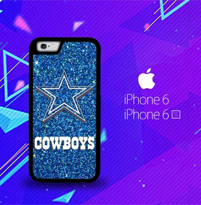 Dallas Cowboys Sparkling Glitter L1554 fundas iPhone 6, iPhone 6S