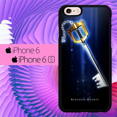Kingdom Hearts Sora Keyblade L1917 fundas iPhone 6, iPhone 6S