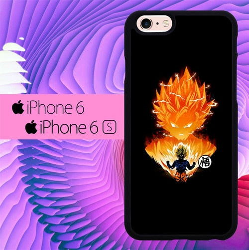 Goku Dragon Ball L2931 fundas iPhone 6, iPhone 6S