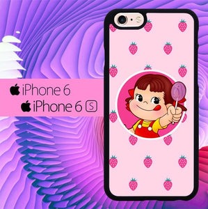 Strawberry Little Girl L2938 fundas iPhone 6, iPhone 6S