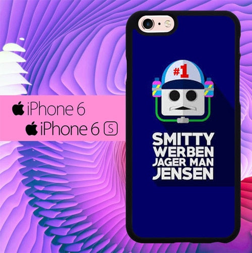 Smitty Werben Jager Man Jensen L3017a fundas iPhone 6, iPhone 6S