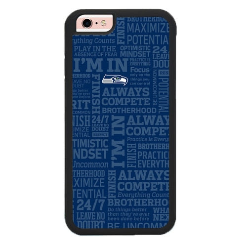 Seattle Seahawks Quote L3044 fundas iPhone 6, iPhone 6S