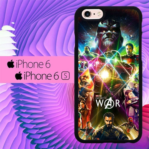 Avengers Infinity Wars L3045 fundas iPhone 6, iPhone 6S