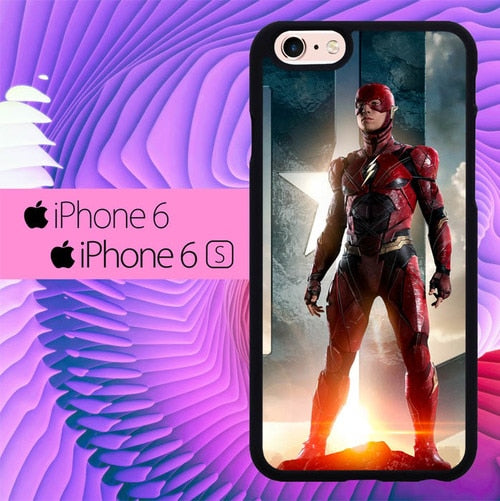 Justice League Flash L3057 fundas iPhone 6, iPhone 6S
