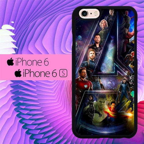 Avengers IW L3076 fundas iPhone 6, iPhone 6S