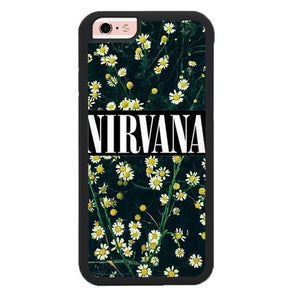 Nirvana Flowers L3143 fundas iPhone 6, iPhone 6S