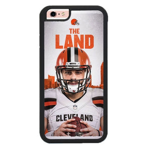 The Land Cleveland Browns L3196 fundas iPhone 6, iPhone 6S