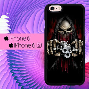 Undead Assassin Gun L3232 fundas iPhone 6, iPhone 6S