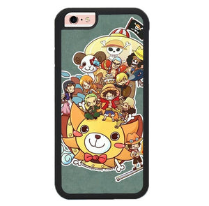 Luffy Crew Chibi L3240 fundas iPhone 6, iPhone 6S