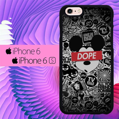 Mickey Dope L3248 fundas iPhone 6, iPhone 6S