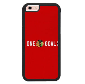 Chicago Blackhawks W9141 fundas iPhone 6, iPhone 6S