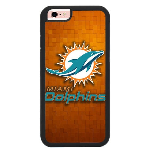 miami dolphins W9195 fundas iPhone 6, iPhone 6S