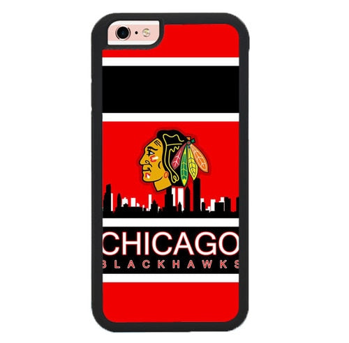 CHICAGO BLACKHAWKS W9270 fundas iPhone 6, iPhone 6S