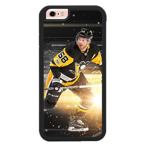 Pittsburgh Penguins W9279 fundas iPhone 6, iPhone 6S
