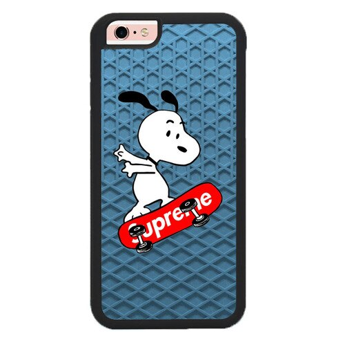 snoopy supreme W9375 fundas iPhone 6, iPhone 6S