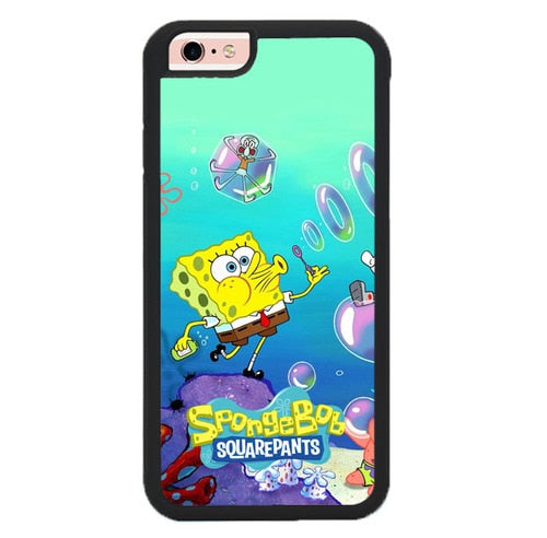 spongebob W9377 fundas iPhone 6, iPhone 6S