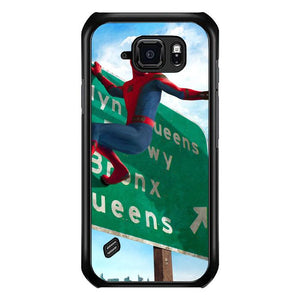 coque custodia cover fundas hoesjes j3 J5 J6 s20 s10 s9 s8 s7 s6 s5 plus edge B35903 SPIDERMAN ON STREET J0228 Samsung Galaxy S6 Active Case