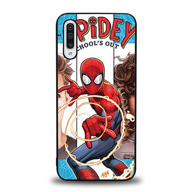 coque custodia cover fundas hoesjes j3 J5 J6 s20 s10 s9 s8 s7 s6 s5 plus edge B36048 Spidey School Out J0657 Samsung Galaxy A50 Case