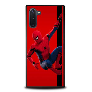 coque custodia cover fundas hoesjes j3 J5 J6 s20 s10 s9 s8 s7 s6 s5 plus edge B35917 Spiderman On Wall J0687 Samsung Galaxy Note 10 Case