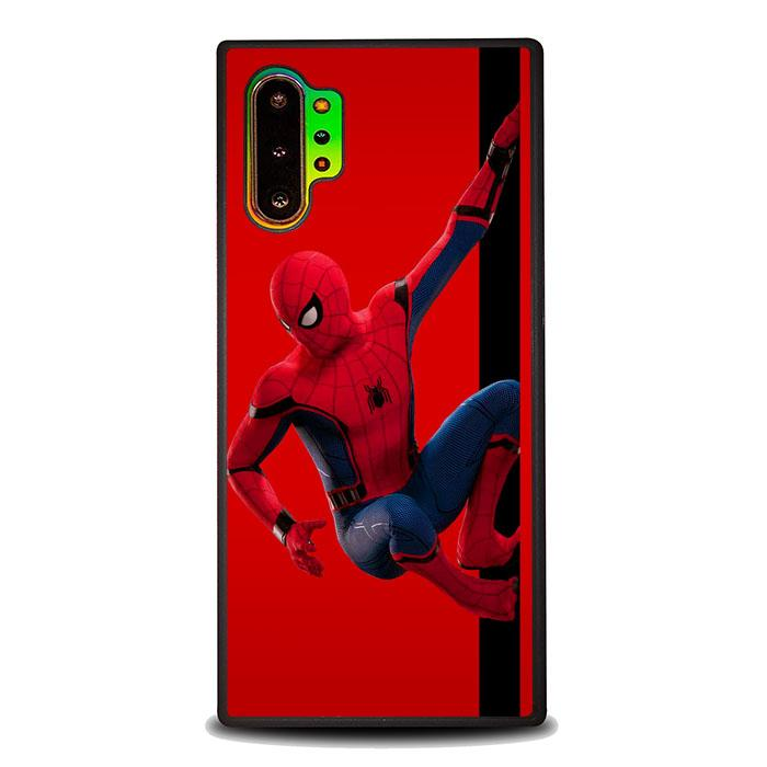 coque custodia cover fundas hoesjes j3 J5 J6 s20 s10 s9 s8 s7 s6 s5 plus edge B35921 Spiderman On Wall J0687 Samsung Galaxy Note 10 Plus Case