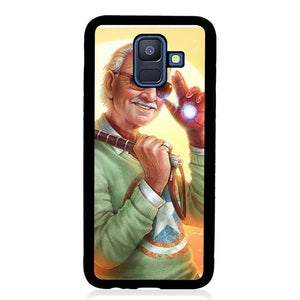 coque custodia cover fundas hoesjes j3 J5 J6 s20 s10 s9 s8 s7 s6 s5 plus edge B36202 Stan Lee J0720 Samsung Galaxy A6 2018 Case