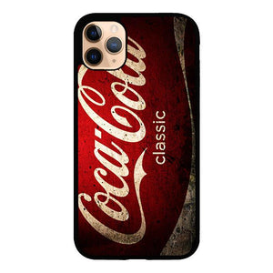 coque custodia cover case fundas hoesjes iphone 11 pro max 5 6 6s 7 8 plus x xs xr se2020 pas cher X8638 Coca Cola Classic Logo E0846