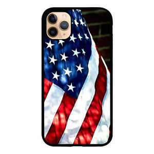 coque custodia cover case fundas hoesjes iphone 11 pro max 5 6 6s 7 8 plus x xs xr se2020 pas cher X8271 4th OF July Flag Country E0888