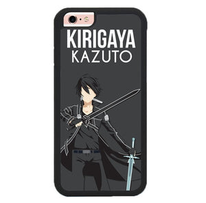 Kirigaya Kazuto Anime Lovers P1849 fundas iPhone 6, iPhone 6S