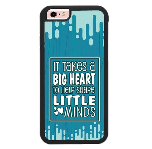 It Takes Big Heart P1892 fundas iPhone 6, iPhone 6S