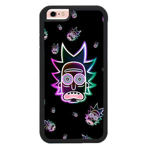 Rick Neon Face P1919 fundas iPhone 6, iPhone 6S