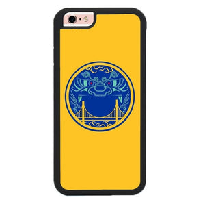 Golden State Warrior Dragon Logo P1931 fundas iPhone 6, iPhone 6S