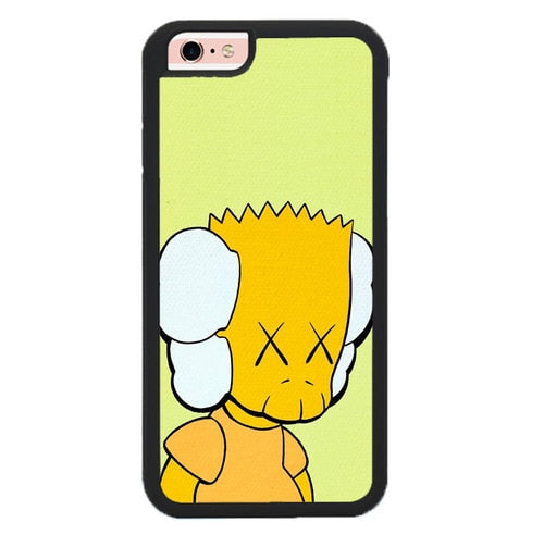 Kaws Simpsons P1978 fundas iPhone 6, iPhone 6S