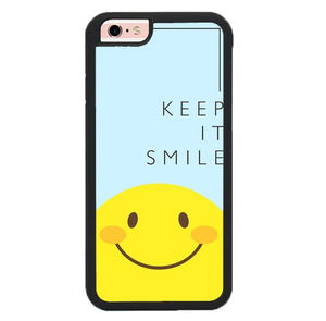 Keep And Always Smile P2006 fundas iPhone 6, iPhone 6S