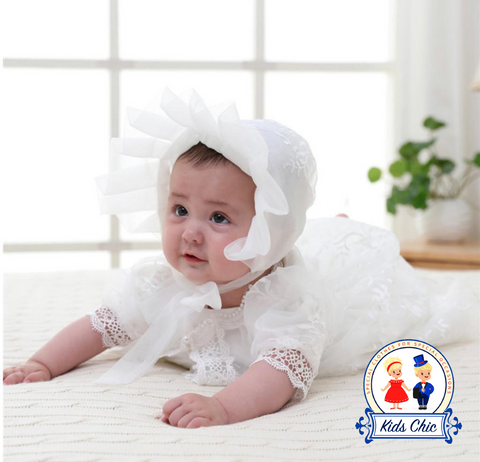 Baptism dress, baptism outfit, christening gown, baptism gown