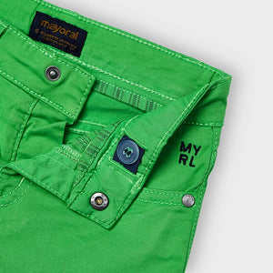 Basic 5 Pockets Twill Shorts for Boy Matcha