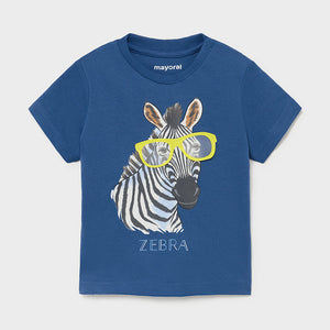 S/s T-shirt Play Zebra for Baby Boy Overseas