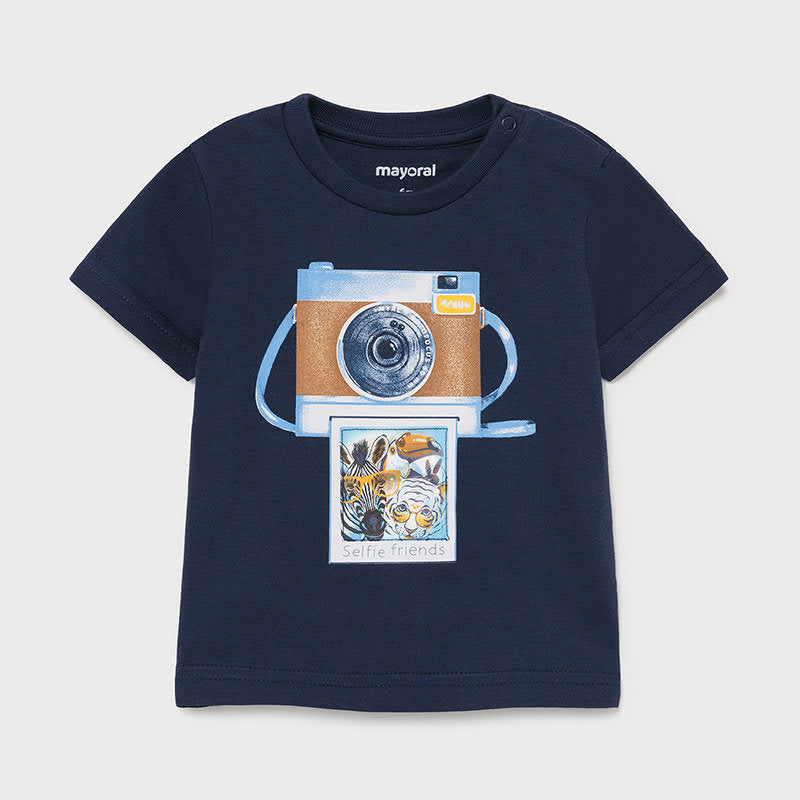 Lenticular T-shirt S/s for Baby Boy Nautical