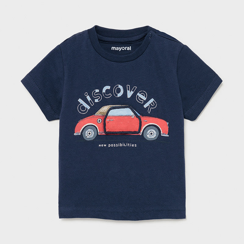 S/s T-shirt Play Car for Baby Boy Nautical