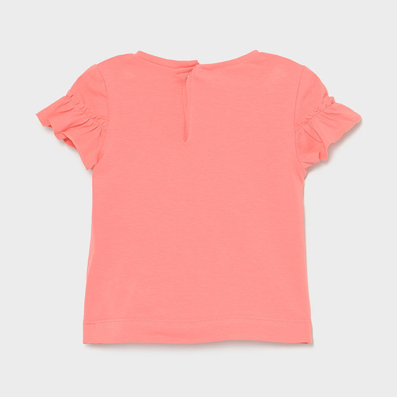 S/s T-shirt for Baby Girl Flamingo