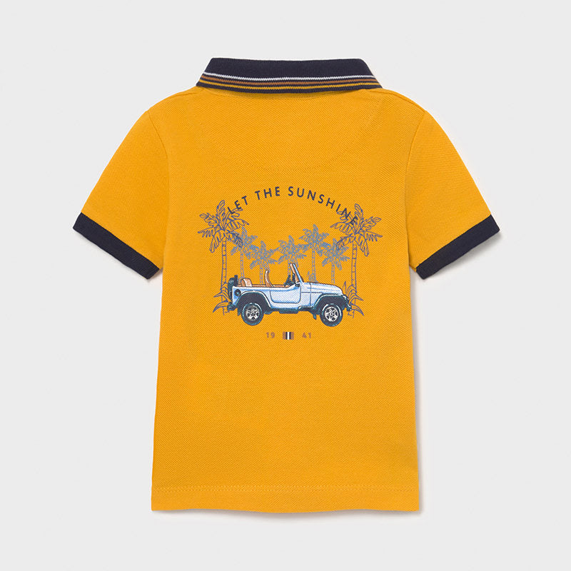 Printed S/s Polo for Baby Boy Mango