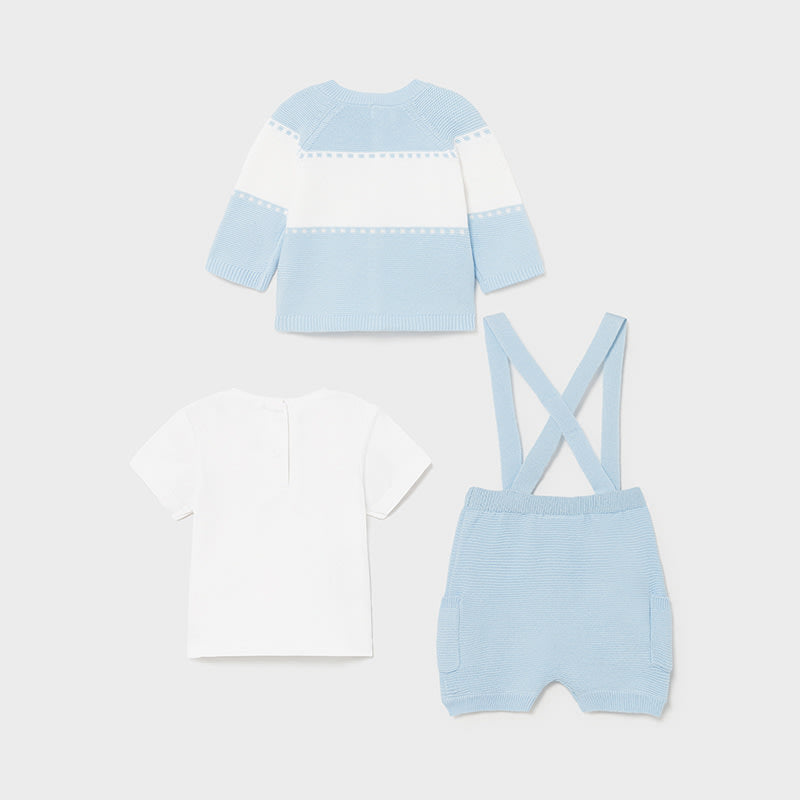 Pant And Jacket Set for Newborn Boy Sky