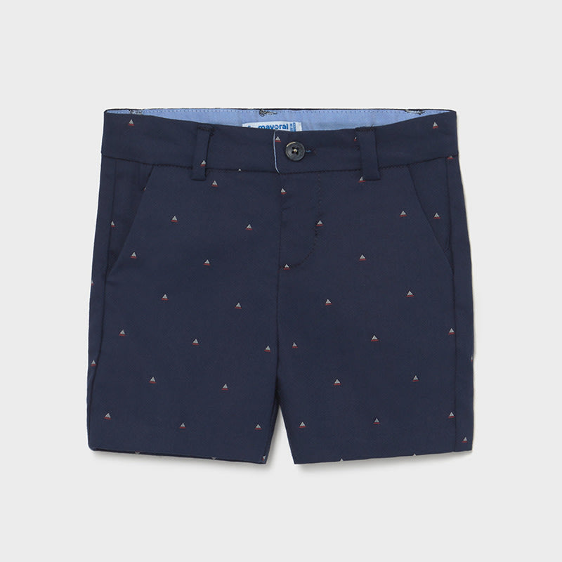 Jacquard Shorts for Baby Boy Nautical